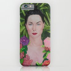 Peony portrait iPhone 6s Slim Case