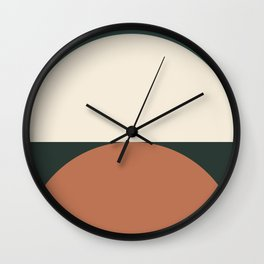 Abstract Geometric 01E Wall Clock