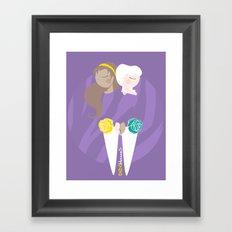 Teenage Endometriosis Awareness - Commissioned Work Framed Art Print