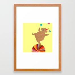Circus Bears I Framed Art Print