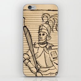 Knight of Knowledge iPhone Skin
