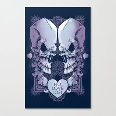 No Love Lost Canvas Print