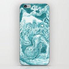 Creatures under Lamppost iPhone & iPod Skin