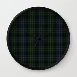 Blackwatch Tartan Wall Clock