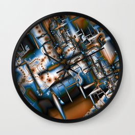 Modern Infestation Wall Clock