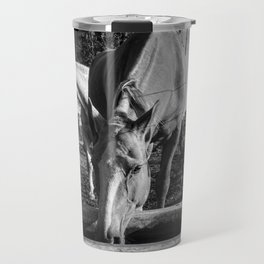 Pampa's Horse Drinking Water Travel Mug