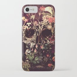 Bloom Skull iPhone Case