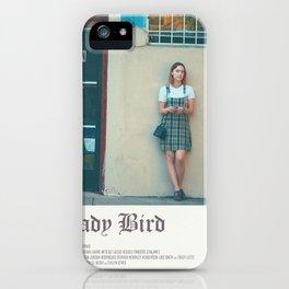 Lady bird poster iPhone Case