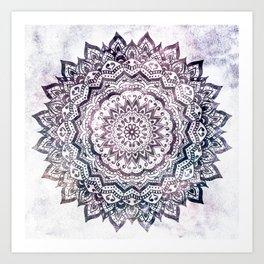 JEWEL MANDALA Art Print