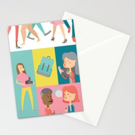 People Panel Stationery Cards