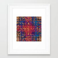 psych Framed Art Prints featuring psych by mari3000