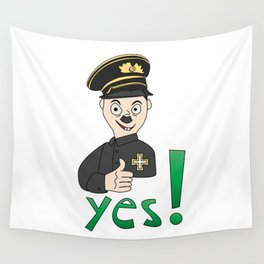 SticLer Wall Tapestry