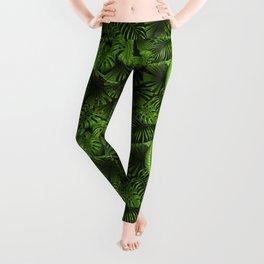 Jungle leaves  Leggings