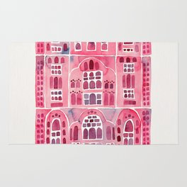 Hawa Mahal – Pink Palace of Jaipur, India Rug