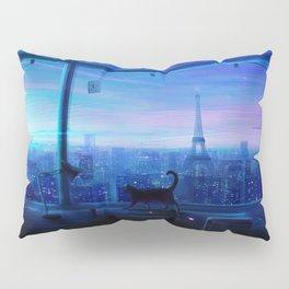 Lonely Night Original Artwork Pillow Sham