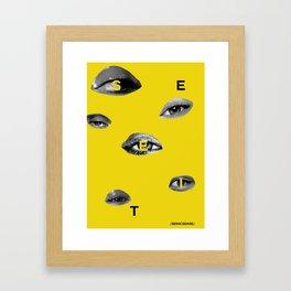 See It Framed Art Print