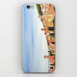 Assisi Italy with Basilica Of San Francesco iPhone Skin