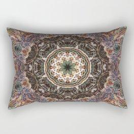 Mandala with ammonites Rectangular Pillow
