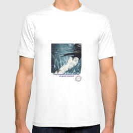 In water far away.... alone... T-shirt