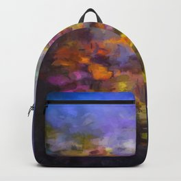 Color Abstract One Backpack
