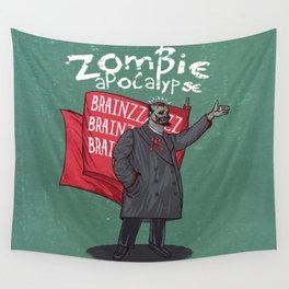 Zombie Lenin Wall Tapestry