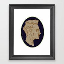 Cameo: Dorian Framed Art Print