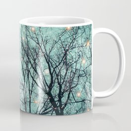Nature Blazes Before Your Eyes (Mint Embers) Coffee Mug