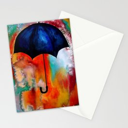 Parapluie by Beth Ann Short Stationery Cards