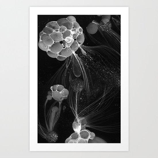 Cosmic Foam Art Print
