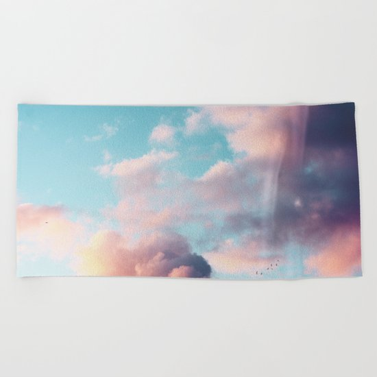 Clouds Paradise Beach Towel