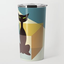 Schrodinger's cat Travel Mug