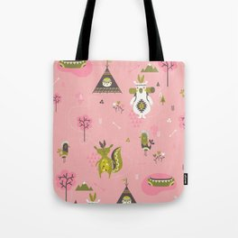 Camp Wichita Girls Tote Bag