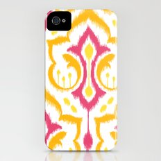 Ikat Damask - Berry Brights Slim Case iPhone (4, 4s)