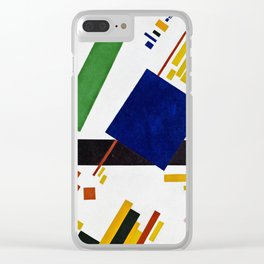 Kazimir Malevich - Suprematist composition Clear iPhone Case