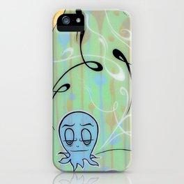 Demetri The Curious Octopi iPhone Case