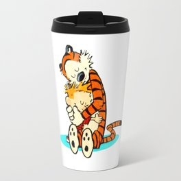 Calvin and Hobbes A Hug Travel Mug