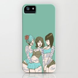 Toygirl Follies iPhone Case