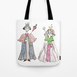 King and Queen Tote Bag