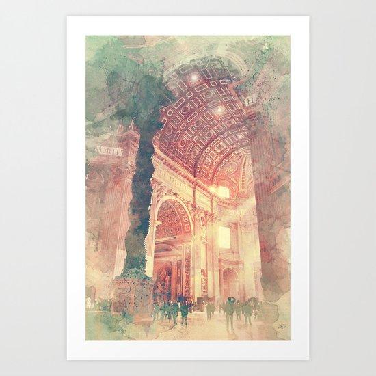 aquarell2 Art Print