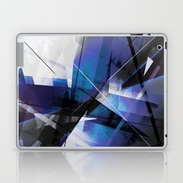 Divided by Glass - Geometic Abstract Art Laptop & iPad Skin