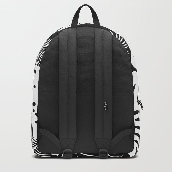 TROPICAL LEAVES 6 Backpack