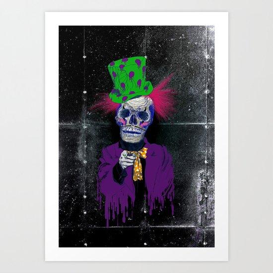 Skully Sam II Art Print
