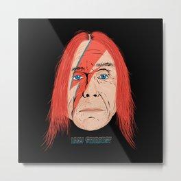 Iggy Stardust Metal Print