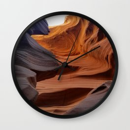 Antelope Canyon #2 Wall Clock