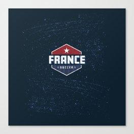 France World Soccer Canvas Print