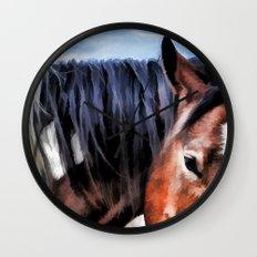 Pony Love Wall Clock