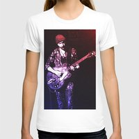 u2 T-shirts featuring U2 / The Edge by JR van Kampen