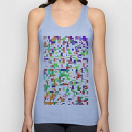 Blocked Up Unisex Tank Top