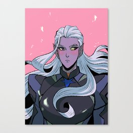Prince Lotor Canvas Print