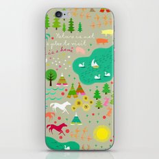 Nature is Home iPhone & iPod Skin